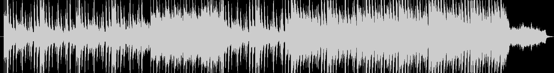 洋館の推理シーンで流れるワルツの未再生の波形