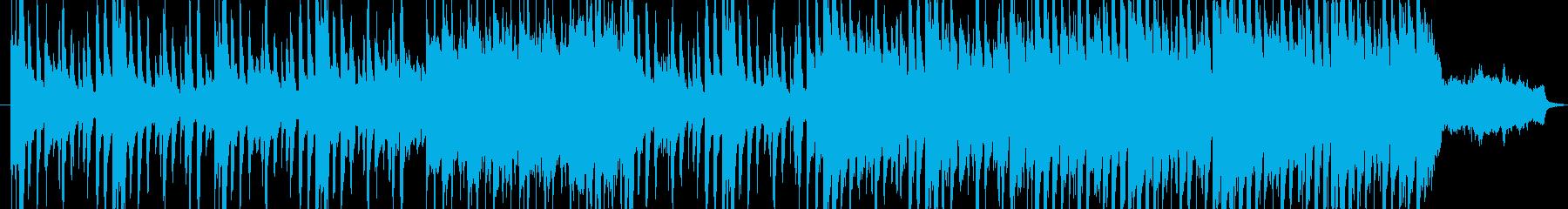 洋館の推理シーンで流れるワルツの再生済みの波形