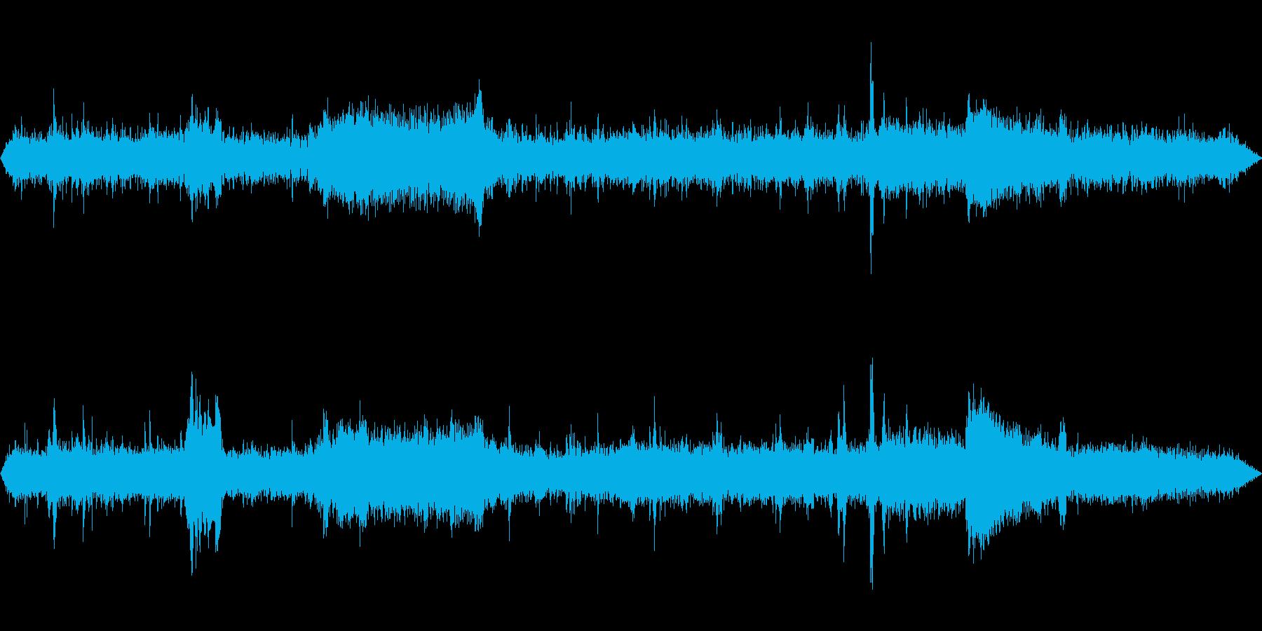 レールバスの音 ゆるい警笛 踏み切りの再生済みの波形
