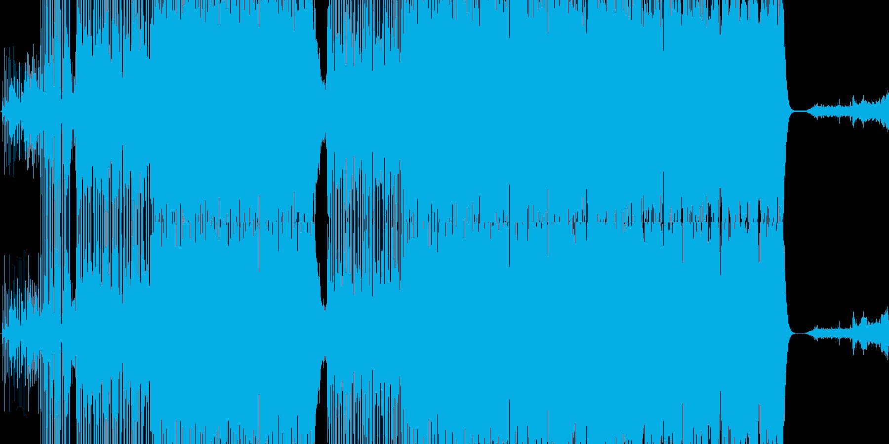 Pursuitの再生済みの波形