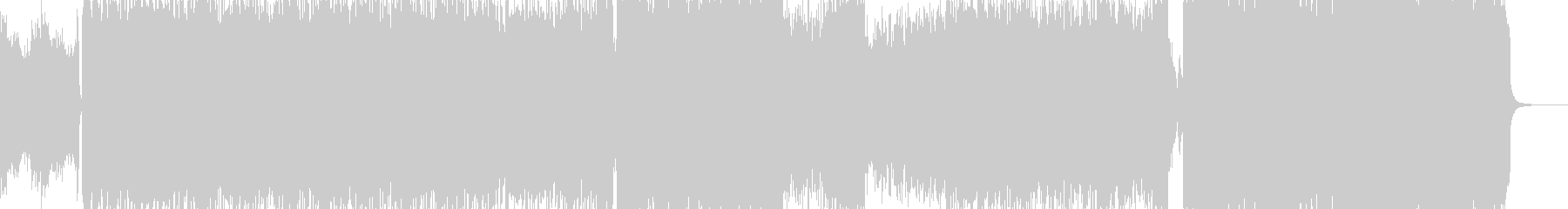 怒鬼・地獄の火炎・暴走するロック 長尺+の未再生の波形