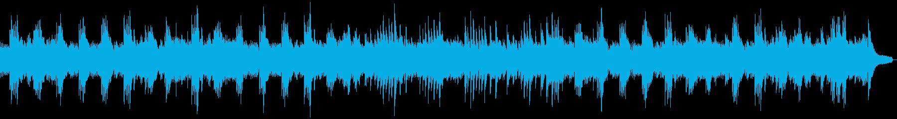 さわやかなソロピアノの再生済みの波形