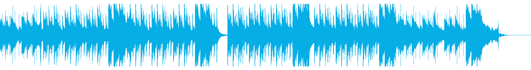 4つ打ち・車のCM・走り抜ける・スピードの再生済みの波形