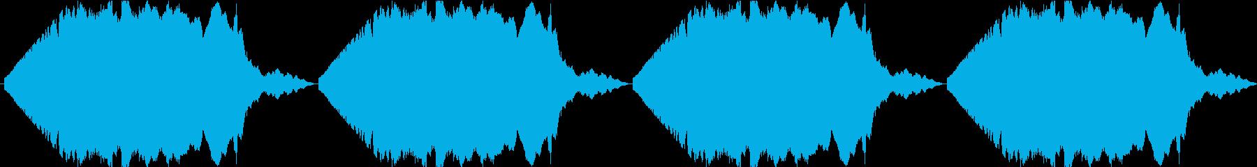 サイレンの音【緊急事態】・ループの再生済みの波形
