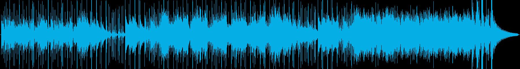 ポップスでドラマチックな曲の再生済みの波形