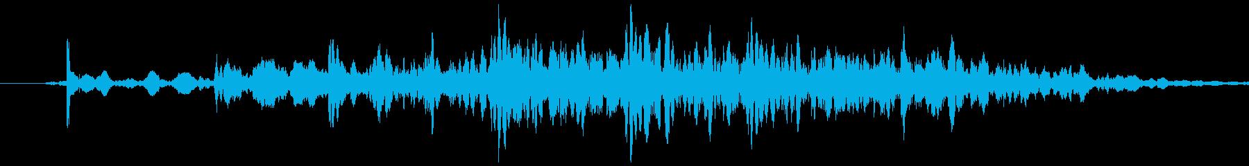 プルチェーン付きローラーブラインド...の再生済みの波形