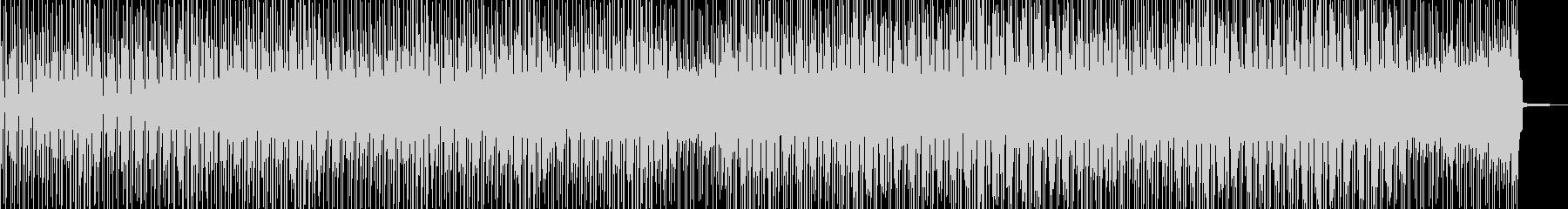 徐々に賑わう動画に・2部構成ポップス Aの未再生の波形