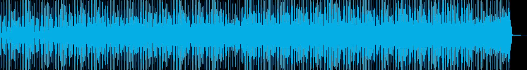 徐々に賑わう動画に・2部構成ポップス Aの再生済みの波形