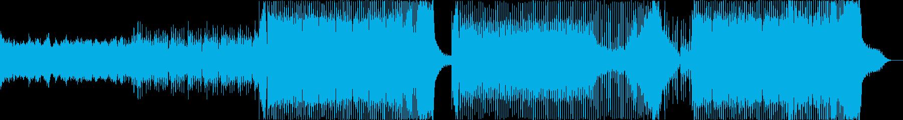 EDM 爽やか 青空 オープニング の再生済みの波形