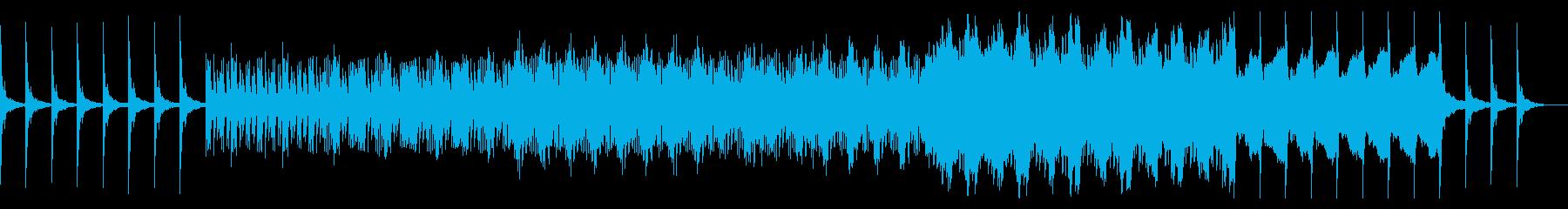 超シンプル!神秘的なBGMの再生済みの波形