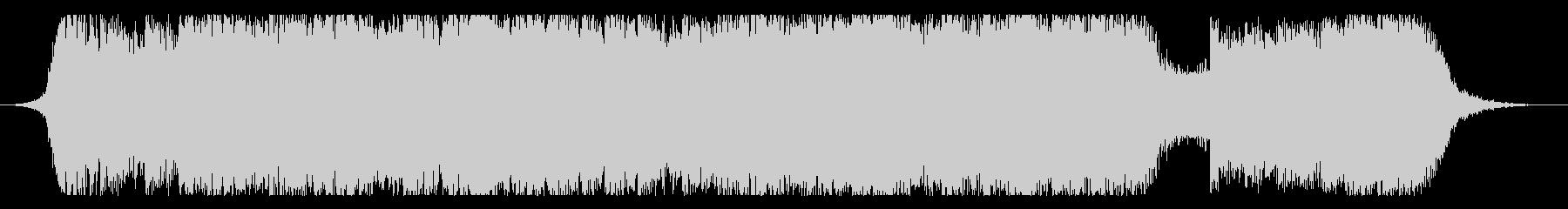 現代の交響曲 積極的 焦り 広い ...の未再生の波形