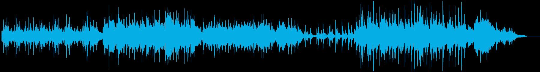 夏にぴったりなピアノ曲の再生済みの波形