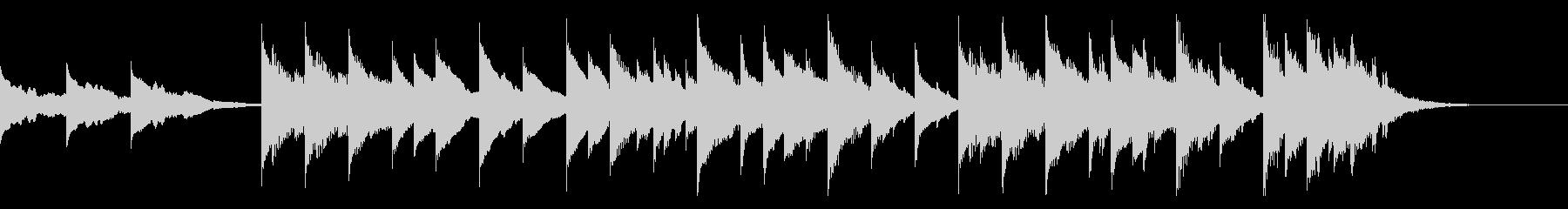 メロディックミニマルエレクトロニカの未再生の波形