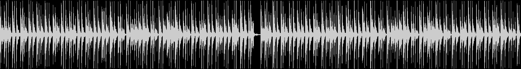 コミカルほのぼの日常系ループBGMの未再生の波形