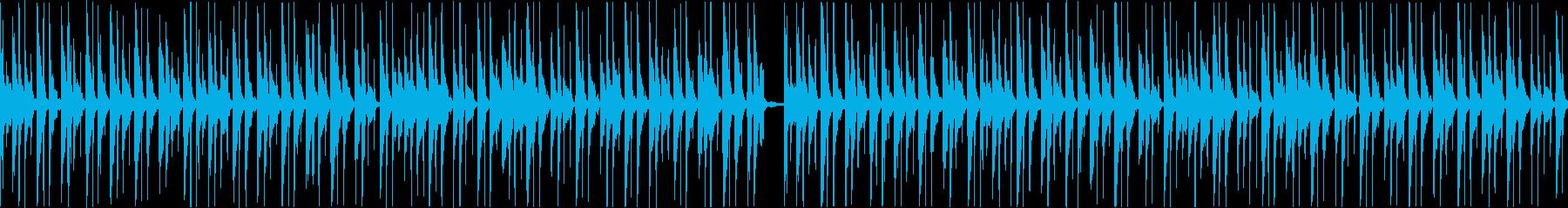 コミカルほのぼの日常系ループBGMの再生済みの波形