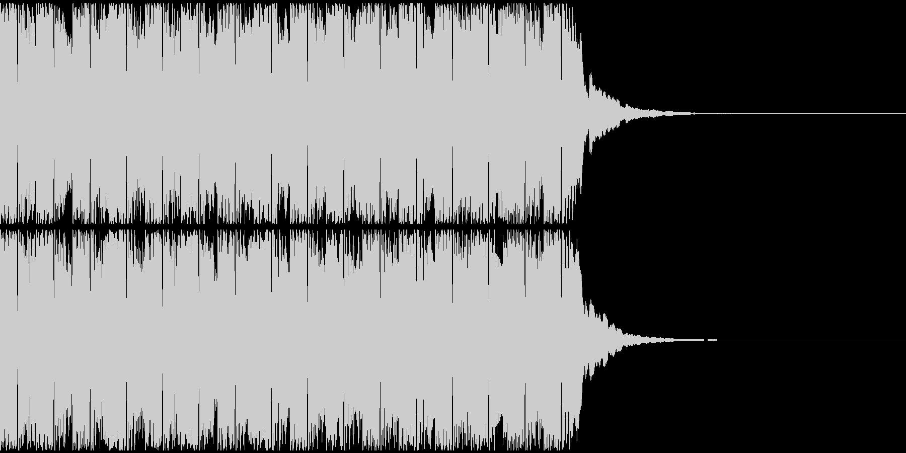 【アンビエント】ロング1、ジングル3の未再生の波形