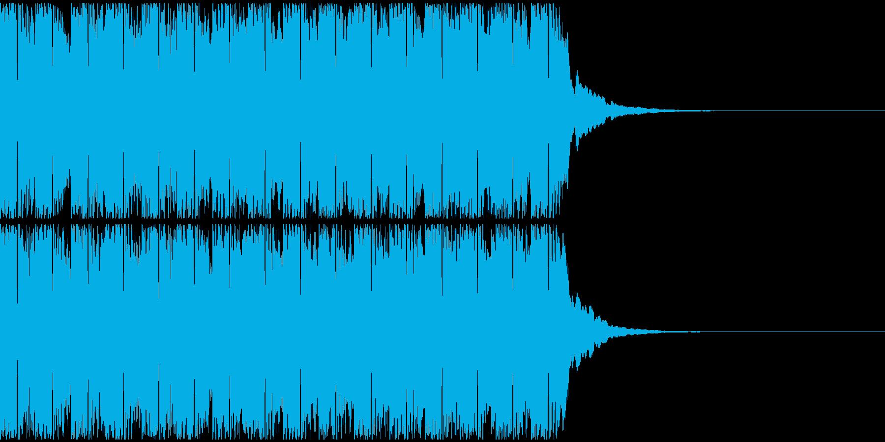 【アンビエント】ロング1、ジングル3の再生済みの波形