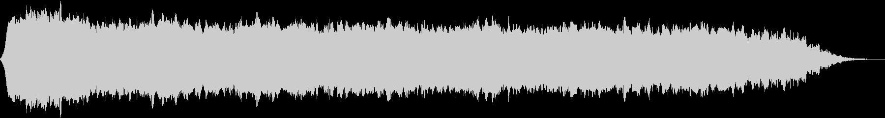 【ダークアンビエント】退廃的なBGM_2の未再生の波形