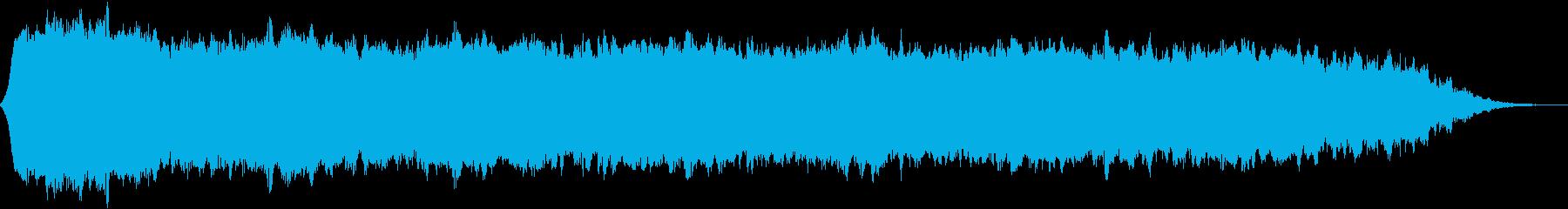 【ダークアンビエント】退廃的なBGM_2の再生済みの波形