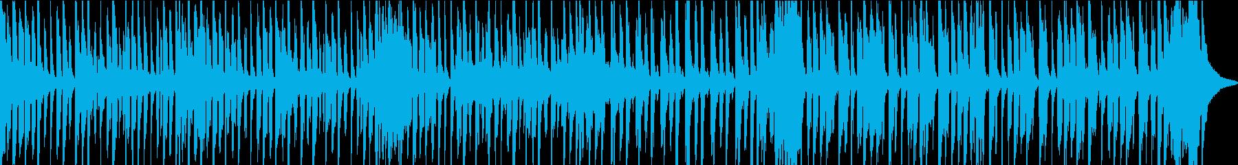 素敵なグルーヴのあるレゲエトラック...の再生済みの波形