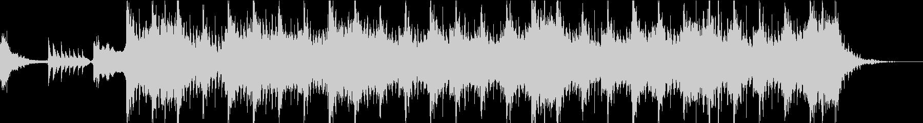 尺八と和太鼓のお祭りジングルの未再生の波形