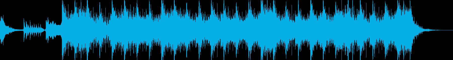 尺八と和太鼓のお祭りジングルの再生済みの波形
