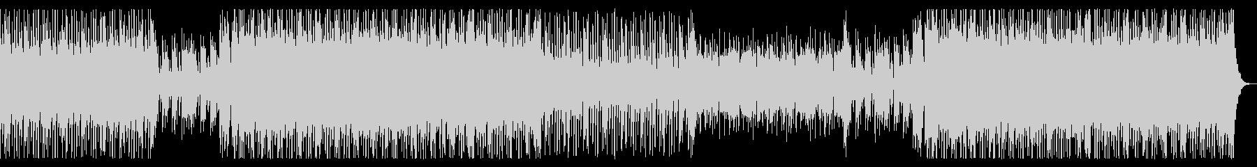かわいいピコピコサウンドのテクノの未再生の波形