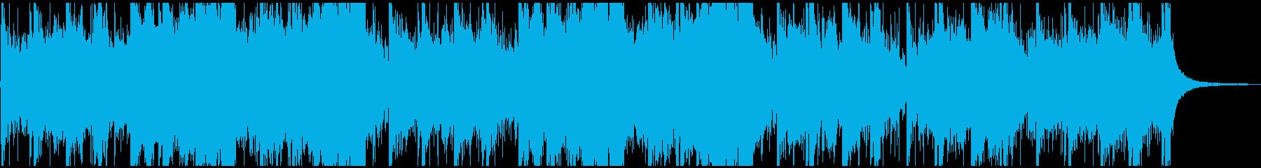 アラビアンな雰囲気のオーケストラBGMの再生済みの波形