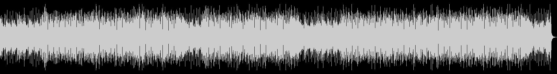 ポジティブなアコースティックギターBGMの未再生の波形