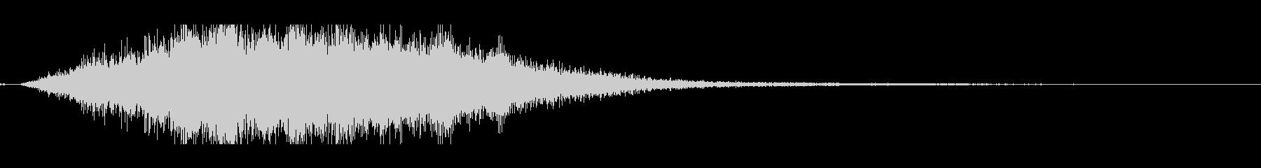 シンセパッド系・壮大なイメージの未再生の波形