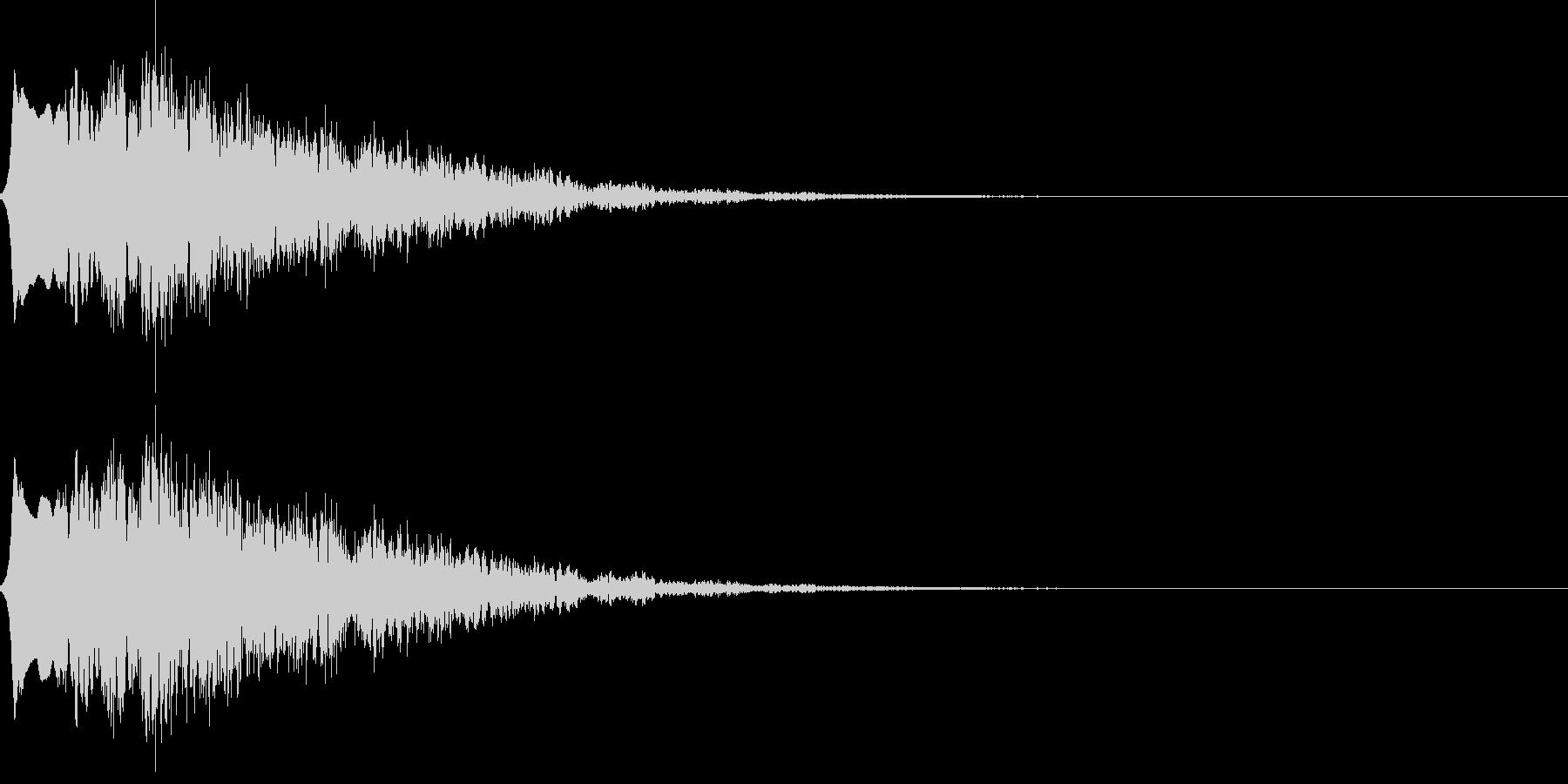 怪しい音03の未再生の波形
