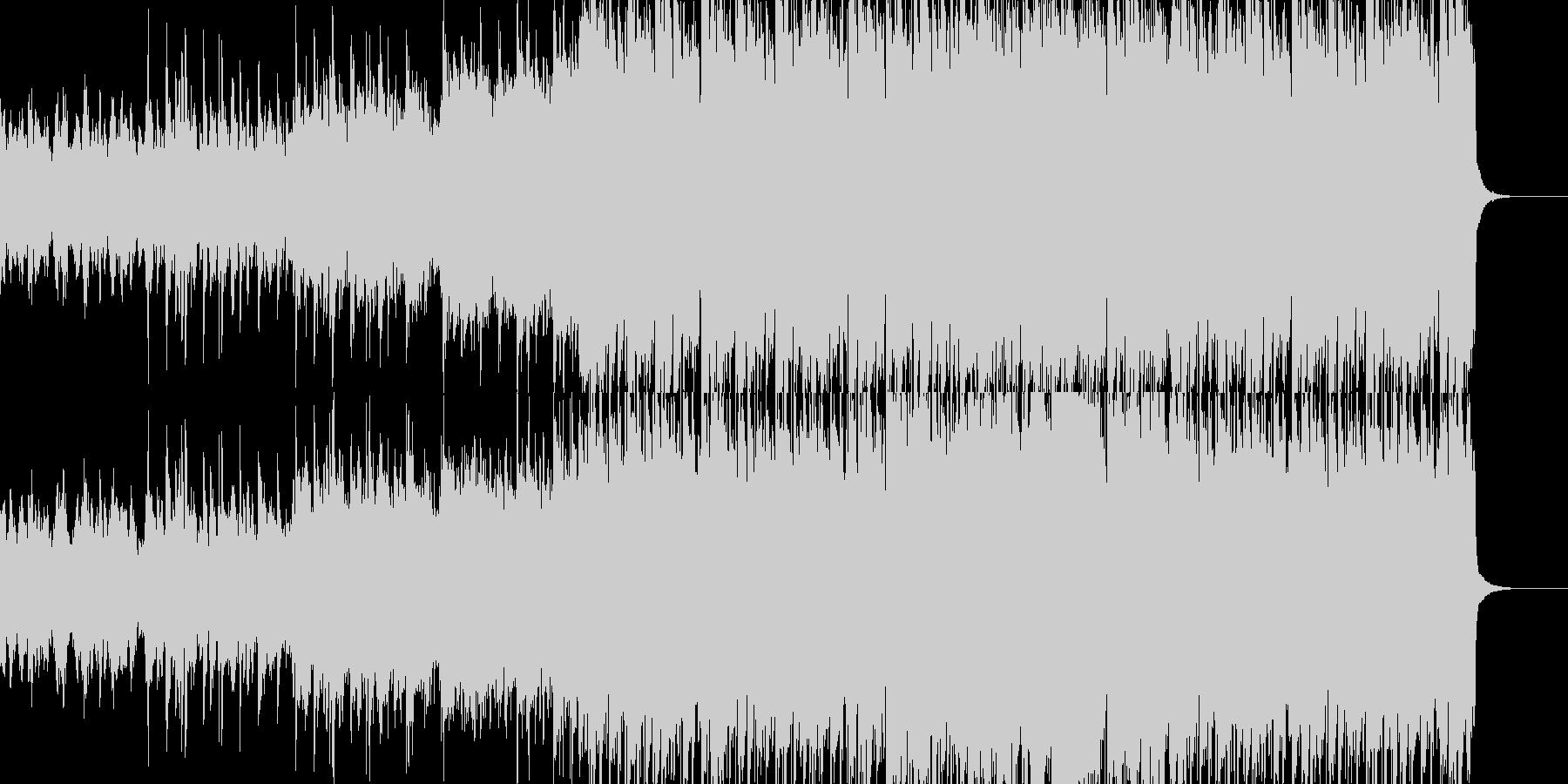 明るいケルト(アイリッシュ)音楽の未再生の波形