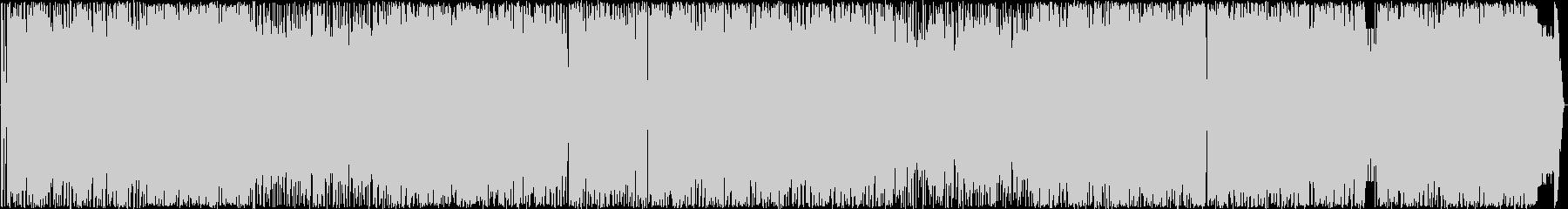パンクバンドのオケ風楽曲の未再生の波形