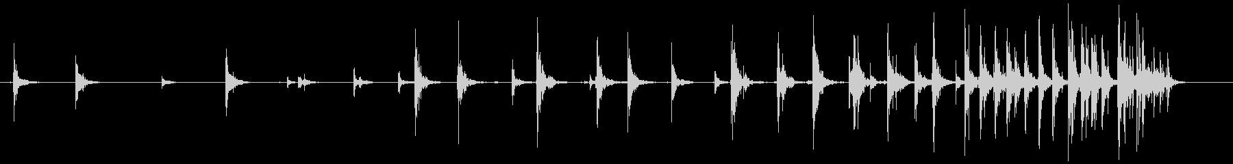 バルーン摩擦音、コミック摩擦アクセ...の未再生の波形