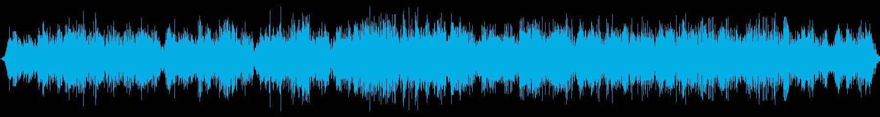 中空金属周波数通信干渉の再生済みの波形