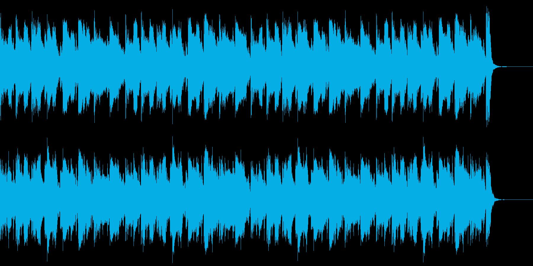 動画広告 30秒 リコーダーB 日常の再生済みの波形