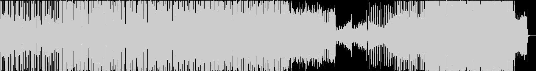 ベートーベン第9番エレクトリカルパレードの未再生の波形