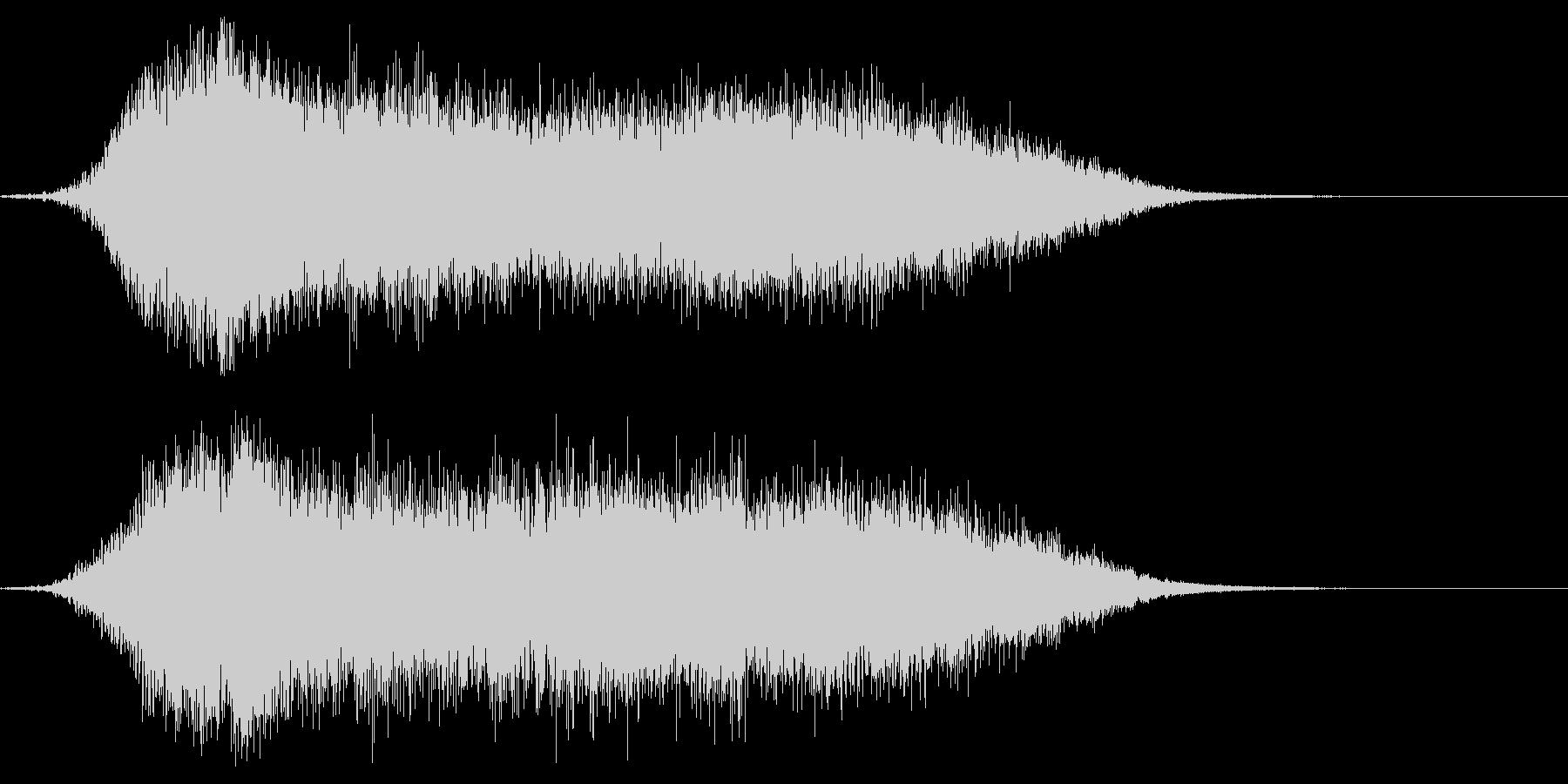 シネマティックサウンドロゴ1の未再生の波形