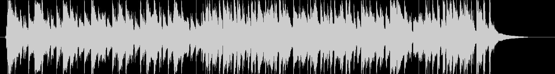 ほのぼのした日常的なアコギBGMの未再生の波形