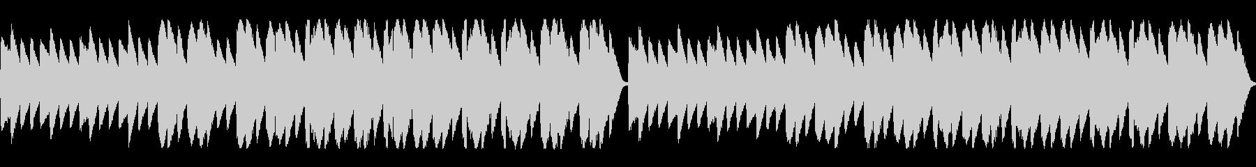 静かで切ない雰囲気のチップチューンの未再生の波形