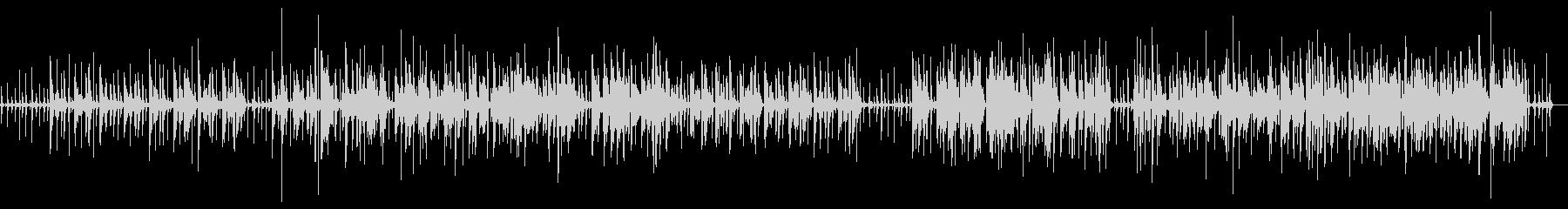 ループ系のアコースティックの未再生の波形