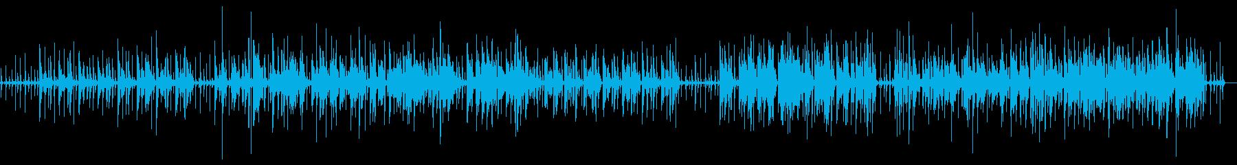 ループ系のアコースティックの再生済みの波形