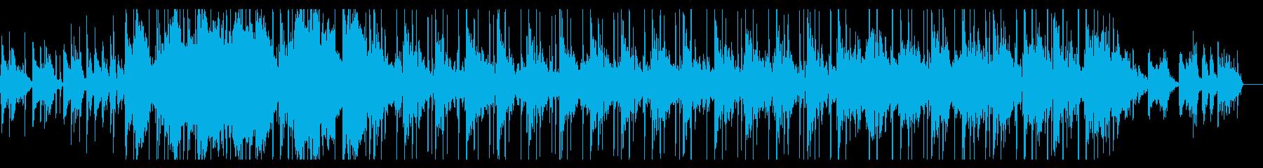 ジャジーでゆったりしたチルホップの再生済みの波形