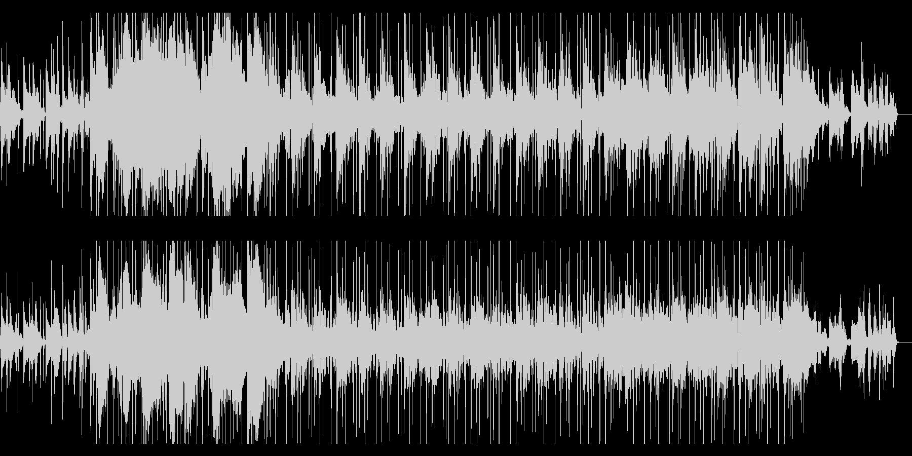ジャジーでゆったりしたチルホップの未再生の波形