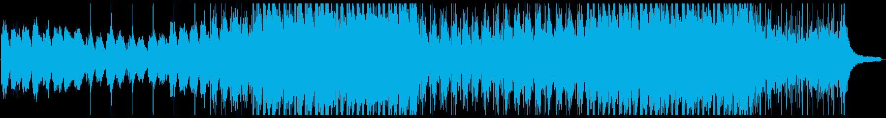 篳篥、笙、琴の和風バラードの再生済みの波形