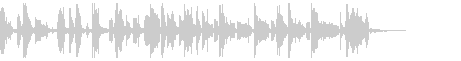 Electro jazz guitar jingle's unreproduced waveform
