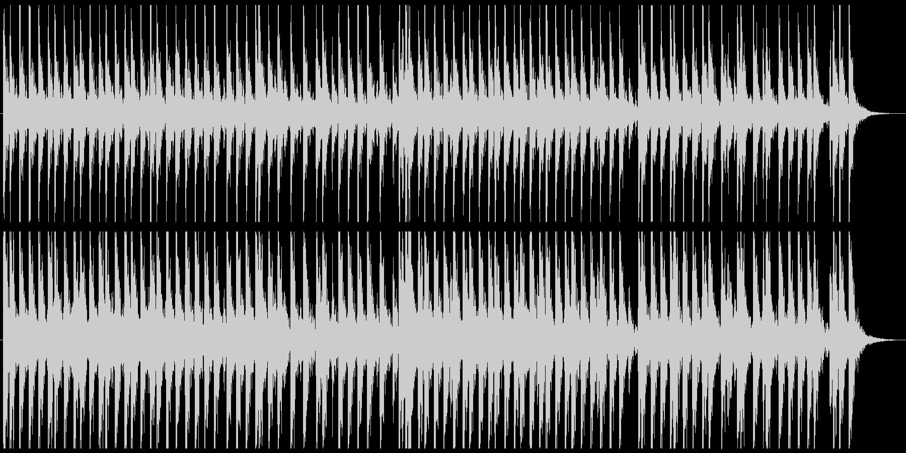 相撲の寄せ太鼓風SE その3の未再生の波形