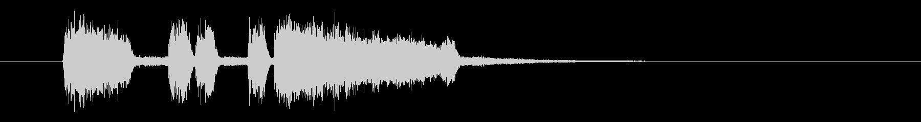 パーパパッパパー(ファンファーレ)の未再生の波形