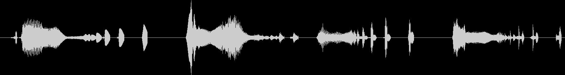 イメージ 言葉のノイズ04の未再生の波形