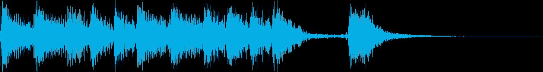 【ジングル】情熱のフラメンコ(短ver)の再生済みの波形